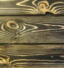 Браширование древесины и покраска